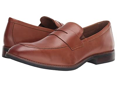 Nunn Bush Fifth Ave Moc Toe Penny Slip-On (Brown) Men