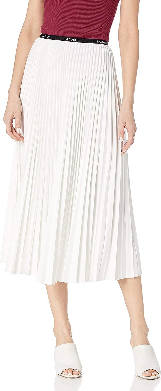 Lacoste Women's Pleated Midi Skirt