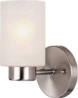 Best brushed nickel wall light fixtures Reviews