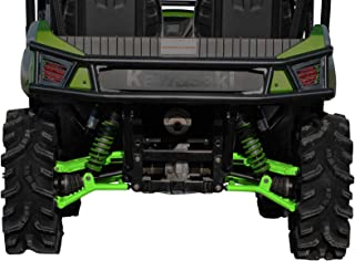 SuperATV High Clearance Offset Rear A-Arms for Kawasaki Teryx/Teryx 4 (See Fitment) - Green