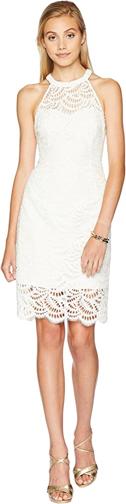 Coconut Scalloped Fan Lace