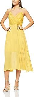 Cooper St Women's Papaya Pleated Midi Dress Papaya Pleated Midi Dress