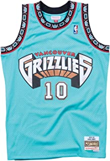 Mitchell & Ness Vancouver Grizzlies Mike Bibby 1998 Road Swingman Jersey