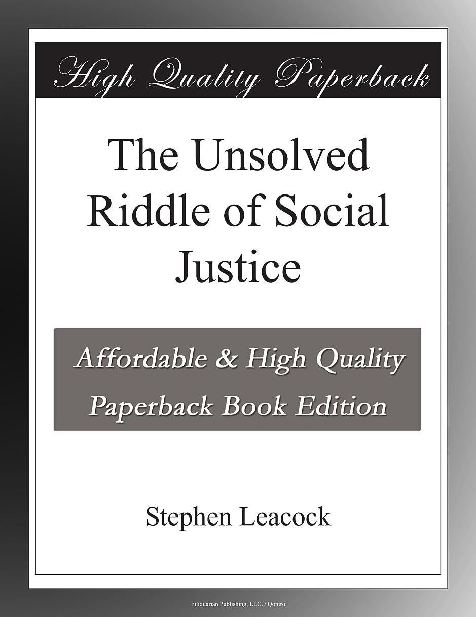 北規範お誕生日The Unsolved Riddle of Social Justice
