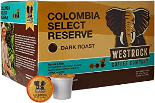 Westrock Coffee Company 100% Colombian Select Reserve, Single Serve Gourmet Coffee 100 Count Cups