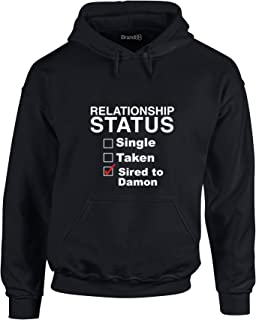 Brand88 - Sired to Damon, Printed Hoodie
