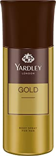 Yardley London Gold Deo Body Spray for Men, 150ml