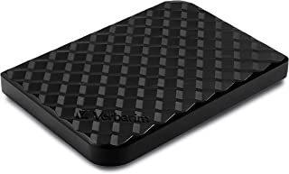 Verbatim 4TB Store 'N' Go Portable Hard Drive, USB 3.0 – Diamond Black