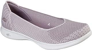 Skechers Women's GO Step Lite - Blue Star Slip On Skimmer Sneaker, Lilac, 8.5