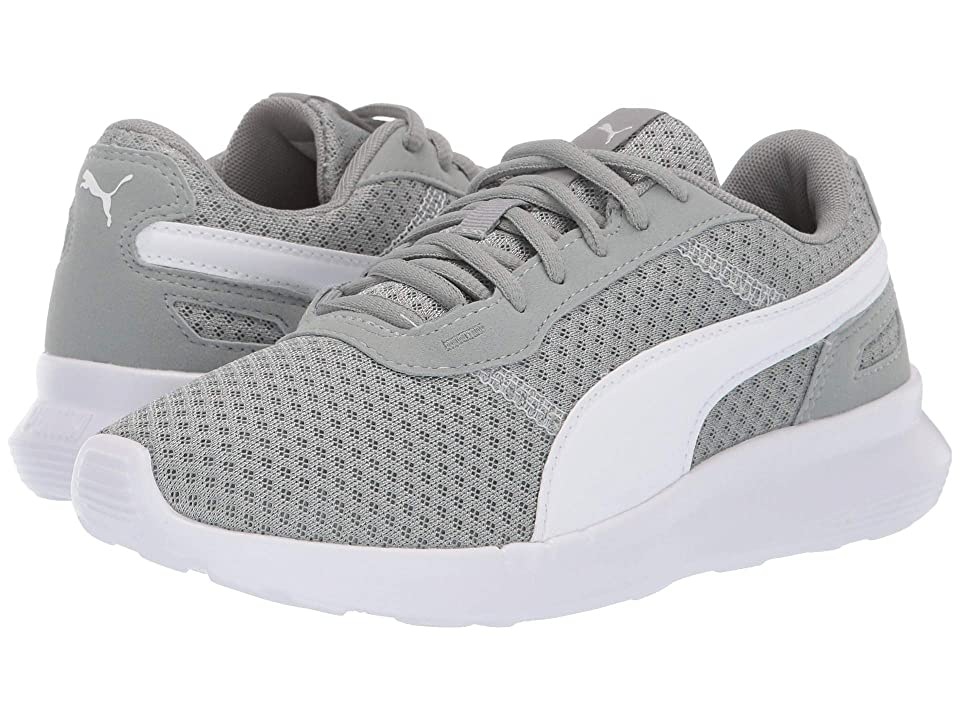 Puma Kids ST Activate (Big Kid) (Limestone/Puma White) Kids Shoes