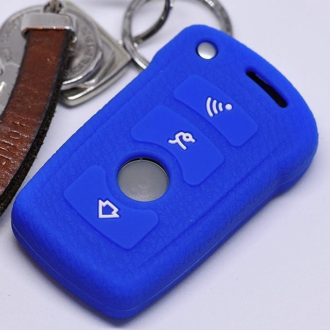 Soft Case Schutz Hülle Auto Schlüssel Für Bmw 7er E65 Elektronik