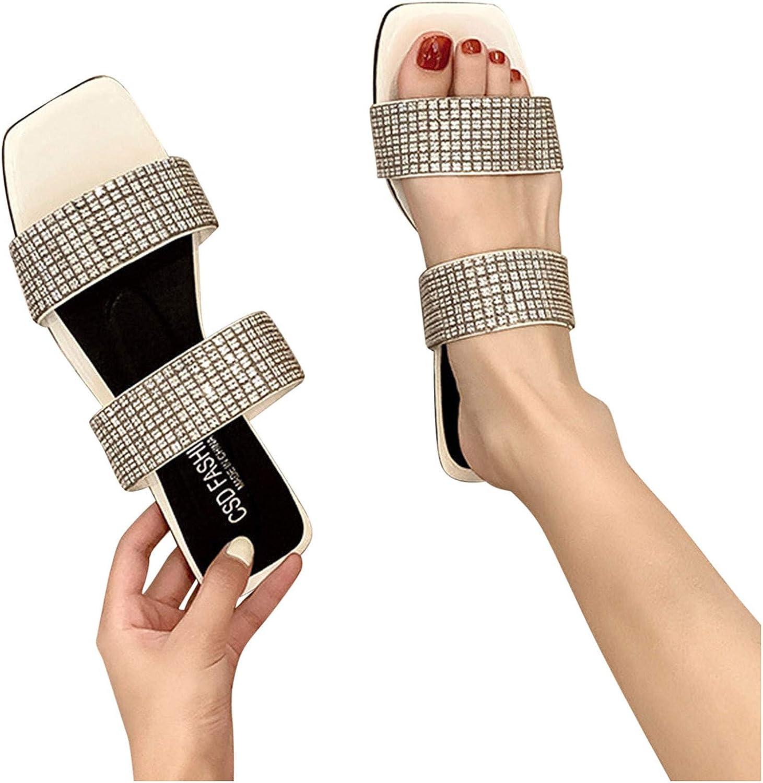 Hgndbloo Women's Slippers Flat Platform Max 45% OFF Sandals 35% OFF Outdoor Summer F