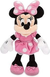 Disney Minnie Mouse Plush - Pink - Mini Bean Bag - 9 1/2 Inch Multi