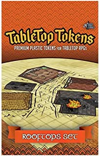 Tabletop Tokens - Rooftops Set
