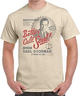 Camiseta de Hombre Better Call Saul Breaking Bad 001