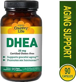 Country Life DHEA, 25 mg - 90 Vegan Capsules