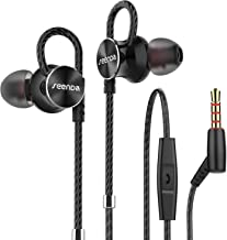 Earphones with Microphone, Seenda Noise Isolation HD Stereo Sound in-Ear Headphones with 3.5mm Jack