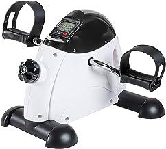 Under Desk Bike Pedal Exerciser – TABEKE Mini Exercise Bike for Arm/Leg Exercise,..