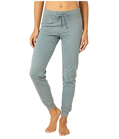 Beyond Yoga Hey Chambray Midi Swegging (Washed Stormy Blue) Women