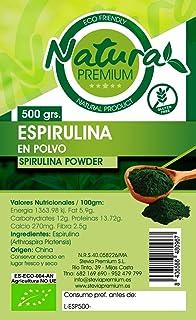 Natura Premium Espirulina En Polvo Bio - 500 gr ECOLOGICO