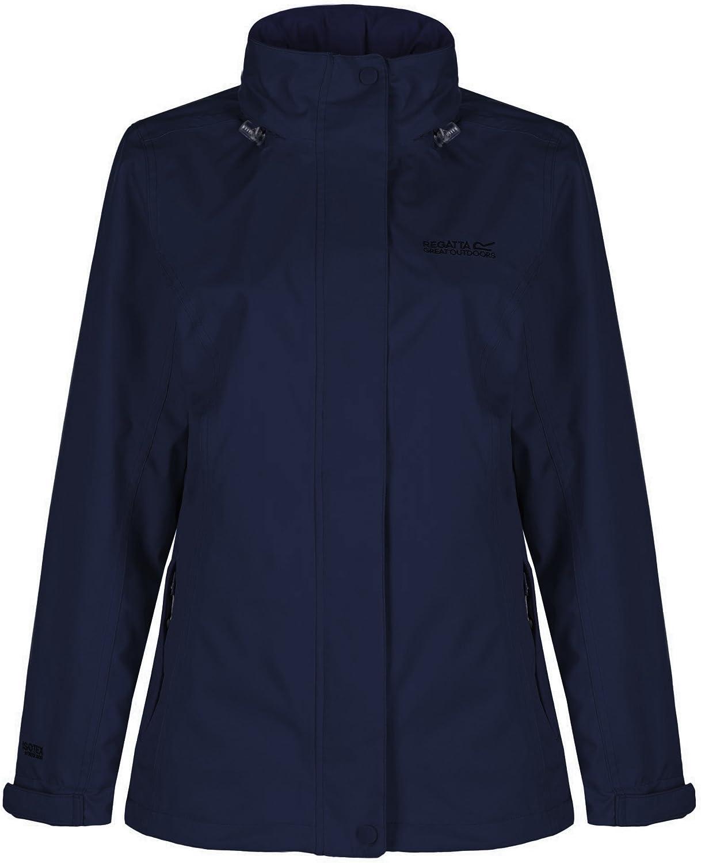 Regatta Great Outdoors Womens Ladies Calyn Stretch Waterproof Jacket