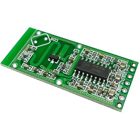 KKHMF マイクロ波レーダーセンサーRCWL-0516スイッチモジュールヒューマンインダクションボード検出器