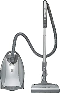 Best Kenmore Elite 21814 Pet Friendly CrossOver Lightweight Bagged HEPA Canister Vacuum with Pet PowerMate, Extended Telescoping Wand, Retractable Cord, 2 Floor Nozzles, and 4 Cleaning Tools-Silver/Gray Review