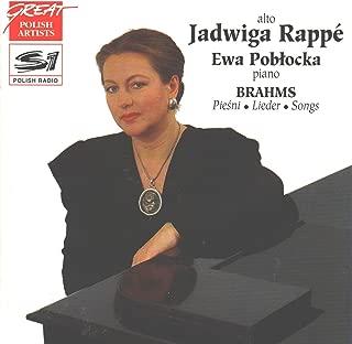 Brahms: Piesni / Lieder / Songs (Great Polish Artists)