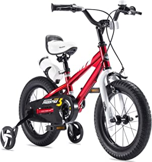RoyalBaby Boys Girls Kids Bike Freestyle 12 14 16 18 20 Inch Bicycle for 2-9 Years Child's Bicycles With Training Wheels o...