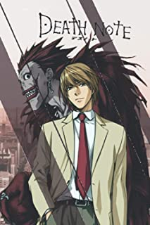 Death Note Notebook: Kira and Ryuk, light yagami notebook: Great Notebook for School or as a Diary, With 120 Blank Pages. ...