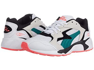 PUMA Prevail Classic (Puma White/Teal Green) Women