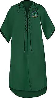 Cinereplicas - Harry Potter - Robe Quidditch Personnalisée - Licence Officielle - Serpentard - Adulte M
