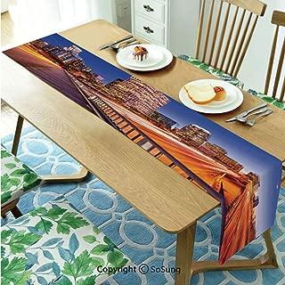 serape table runner los angeles