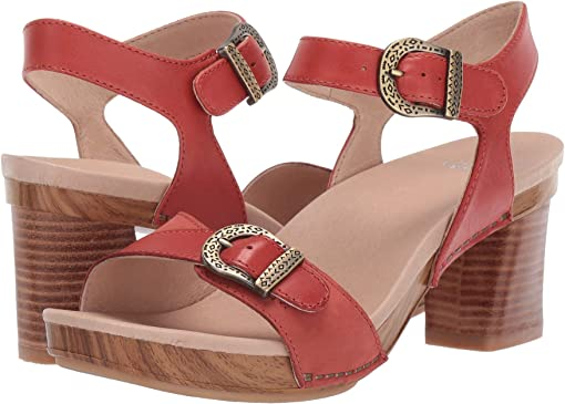 Coral Burnished Calf