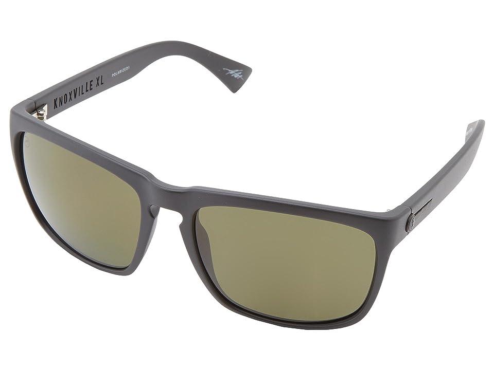 Electric Eyewear Knoxville XL Polarized (Matte Black/M1 Grey Polar) Sport Sunglasses