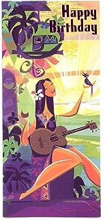Hawaiian Greeting Card Designer Series The Songbird Happy Birthday