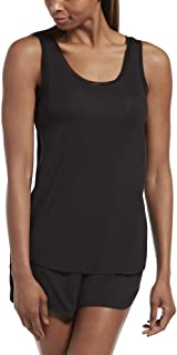 HUE Women's SleepWell with TempTech Pajama Sleep Tank Top