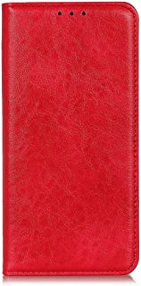 zl one Compatible with/Replacement for Phone Case LG K20 2019 PU Leather Card Slots Wallet Case Flip Cover (Red)