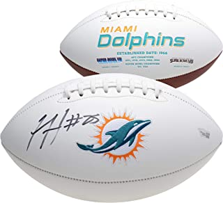 Xavien Howard Miami Dolphins Autographed White Panel Football - Fanatics Authentic Certified - Autographed Footballs