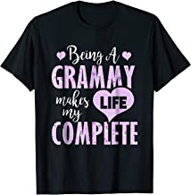 Being A Grammy Makes My Life Complete Tshirt