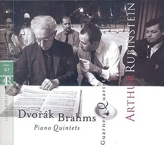 Rubinstein Collection, Vol. 67: Brahms: Piano Quintet, Op. 34; Dvorák: Piano Quintet, Op. 81