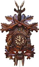 "19"" Traditional Cuckoo Clock with a Deer"