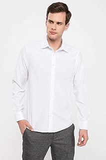 DeFacto Uzun Kollu Modern Fit Basic Gömlek