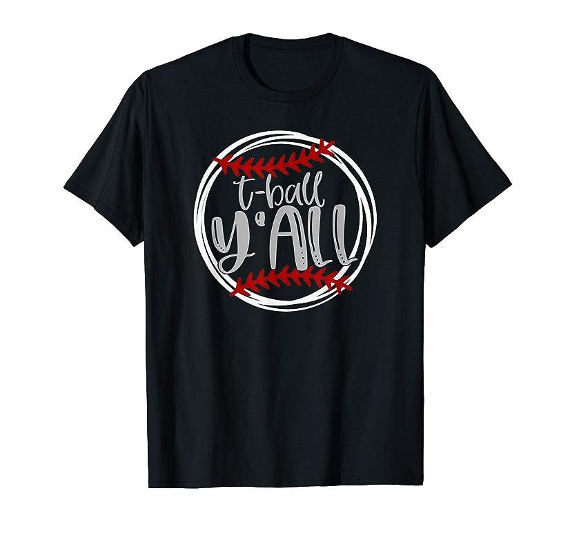 Tball Y'all Shirt, T ball Tshirt Women Men Kids T-ball