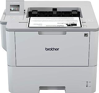 Brother HL-L6400DW - Impresora láser Profesional Monocromo (Bandeja 520 Hojas, 50 ppm, USB 2.0, Memoria de 512 MB, Doble C...
