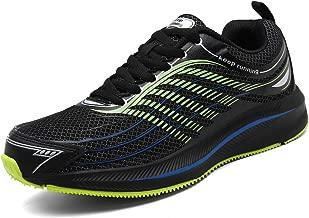 SOLLOMENSI Uomo Scarpe da Ginnastica Corsa Scarpe Sportive e Sneaker Casual Correre Indoor e Outdoor Multisport Trail Running Fitness