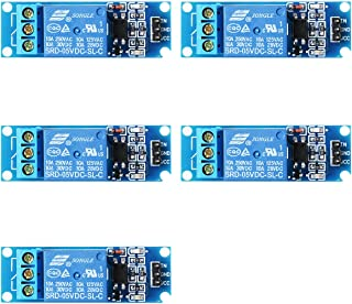 XCSOURCE 5PCS 5V/9V/12V/24V 1 Channel Relay Shield Module Optocoupler for PIC AVR DSP ARM Arduino TE213