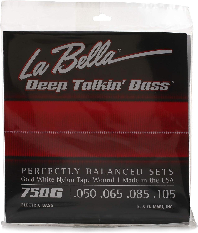 La New York Mall Bella 750G Gold Translated White Nylon Light Strings Tapewound - Bass
