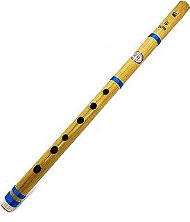 Flauta de bambú indio transversal de 17 pulgadas Bansuri_Clarinete instrumento musical