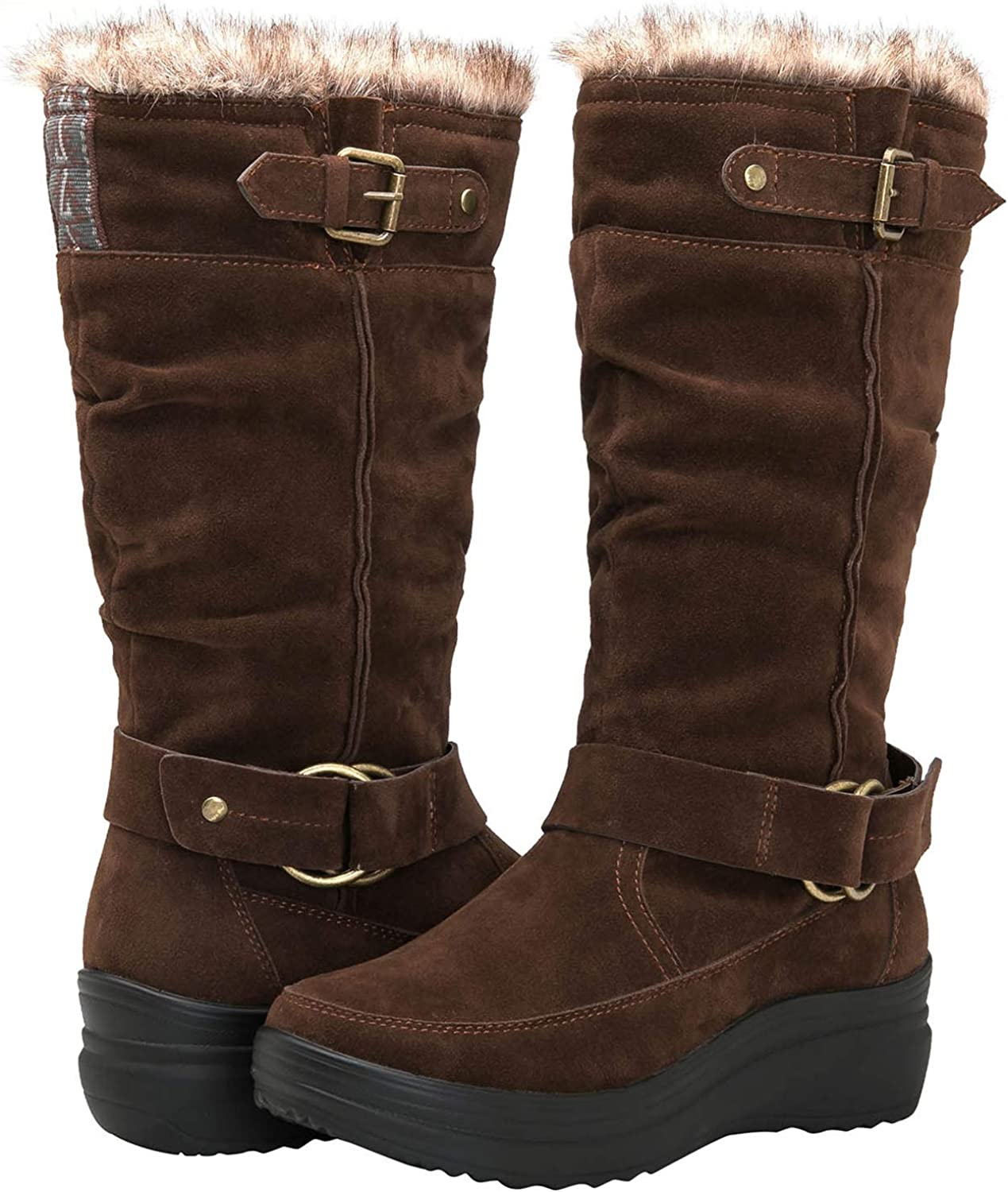 | GLOBALWIN Women's Rylee Fashion Snow Boots | Snow Boots